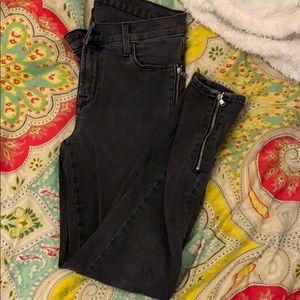 J. brand zipper jeans!